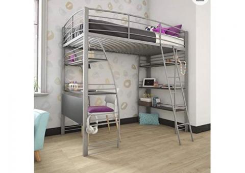 Bunk bed/desk combo